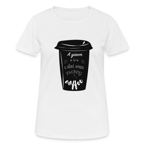 Coffee - Maglietta da donna traspirante