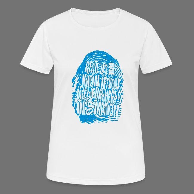 Fingerprint DNA (blå)