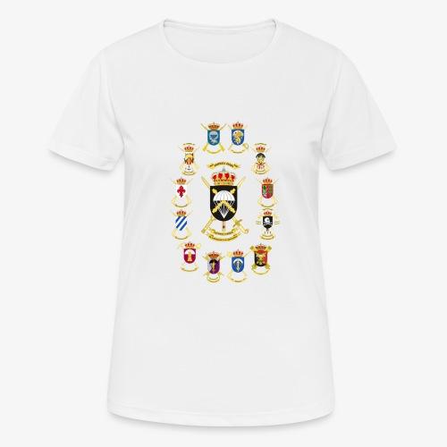 UNIDADES BRIPAC - Camiseta mujer transpirable