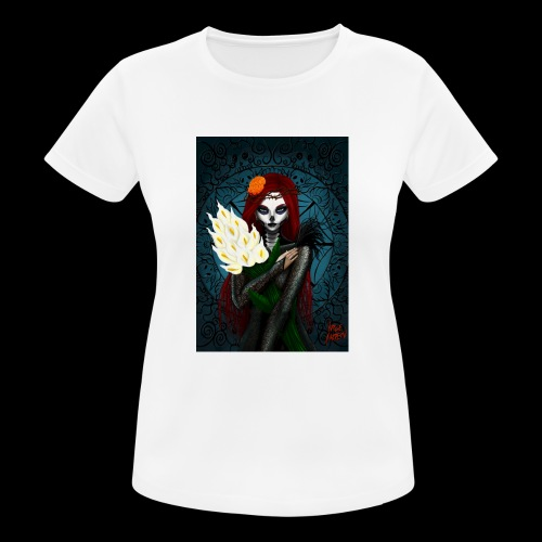 Death and lillies - Women's Breathable T-Shirt
