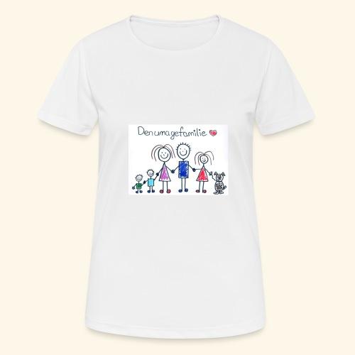 DenUmageFamilie - Dame T-shirt svedtransporterende