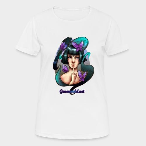 Geneworld - Papillons - T-shirt respirant Femme