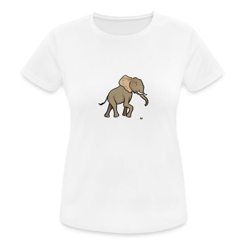 African Elephant - Frauen T-Shirt atmungsaktiv