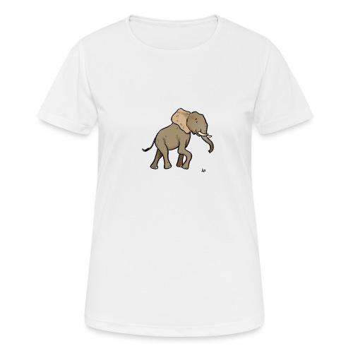 Éléphant d'Afrique - T-shirt respirant Femme