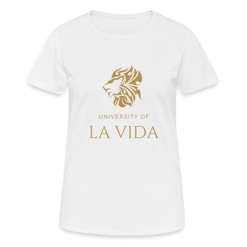 University of LA VIDA - Andningsaktiv T-shirt dam