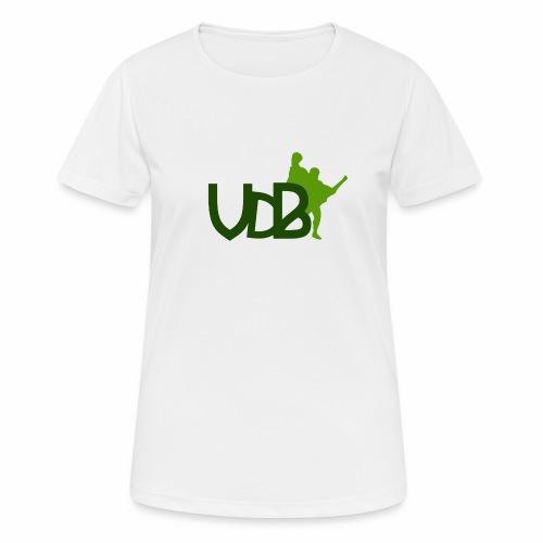 VdB green - Maglietta da donna traspirante
