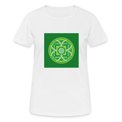 Anahata - Heart Chakra - naisten tekninen t-paita