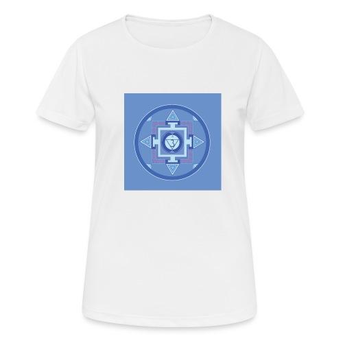 Ajna - Third Eye Chakra - naisten tekninen t-paita