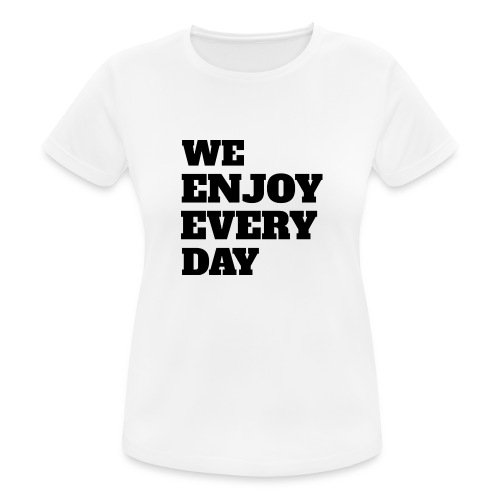 Enjoy - T-shirt respirant Femme