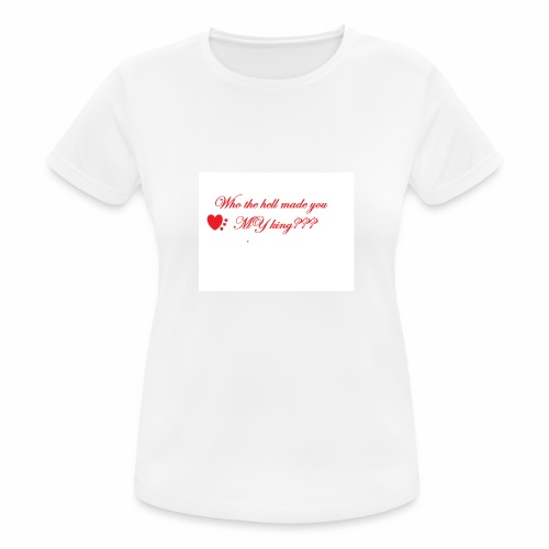 LoveYourselfTheMost - Women's Breathable T-Shirt
