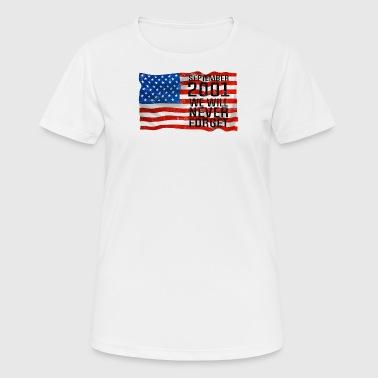 Septmenber 11 2001 Gift World Trade Center - T-shirt respirant Femme