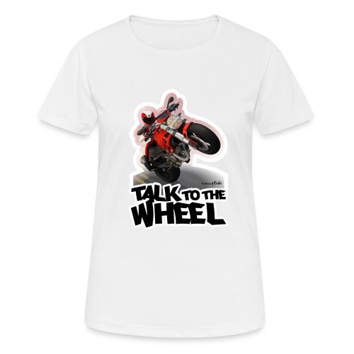 Ducati Monster Wheelie B - Camiseta mujer transpirable