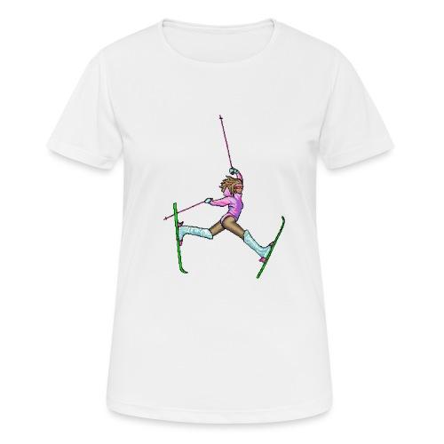 Hot Dogger - naisten tekninen t-paita