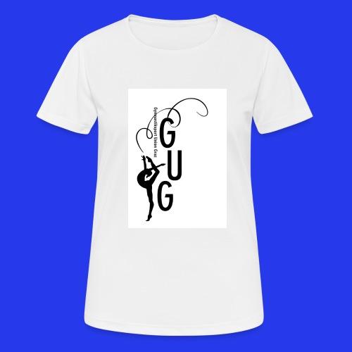 GUG logo - Frauen T-Shirt atmungsaktiv