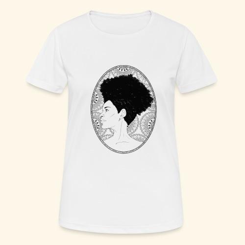 afro-mandala - Maglietta da donna traspirante