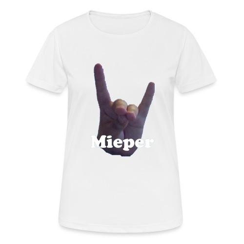 Mieper - Vrouwen T-shirt ademend actief