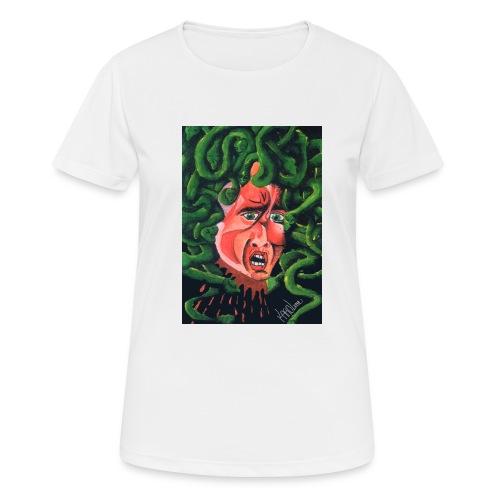 MedusaMay - Maglietta da donna traspirante
