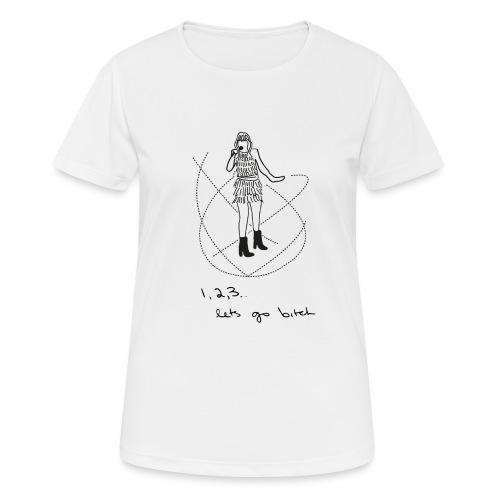 isn't it delicate - Vrouwen T-shirt ademend actief