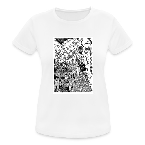 Sea Monsters T-Shirt by Backhouse - Women's Breathable T-Shirt