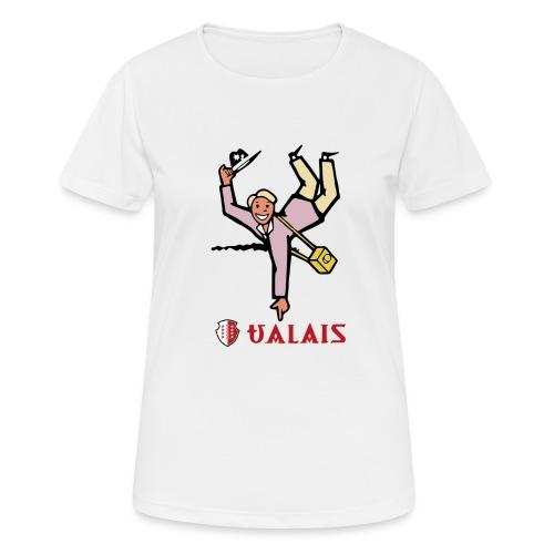 Valais Wallis - Vintage - Frauen T-Shirt atmungsaktiv