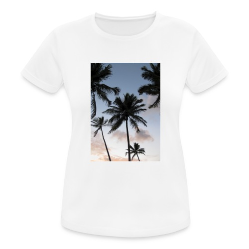 PALMTREES DOMINICAN REP. - vrouwen T-shirt ademend