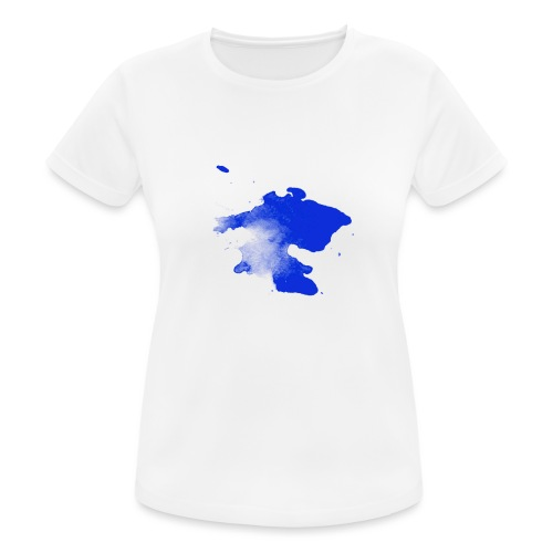 ink splatter - Women's Breathable T-Shirt