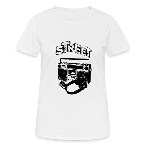 street 1 - Dame T-shirt svedtransporterende