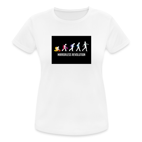 mirrorless evolution - Camiseta mujer transpirable