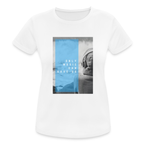 Only Music - Vrouwen T-shirt ademend actief