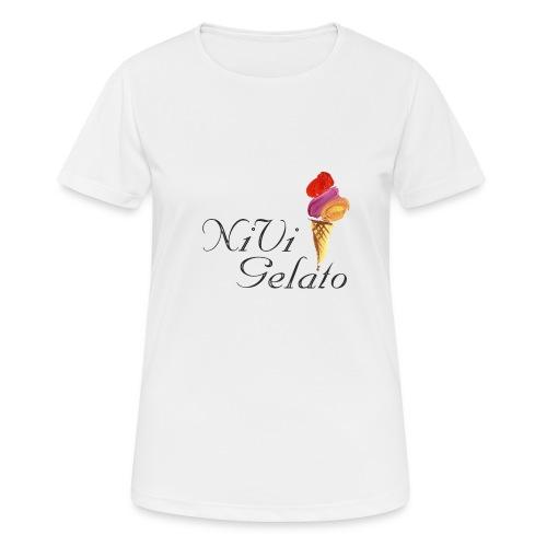 Nivi Gelato - Dame T-shirt svedtransporterende