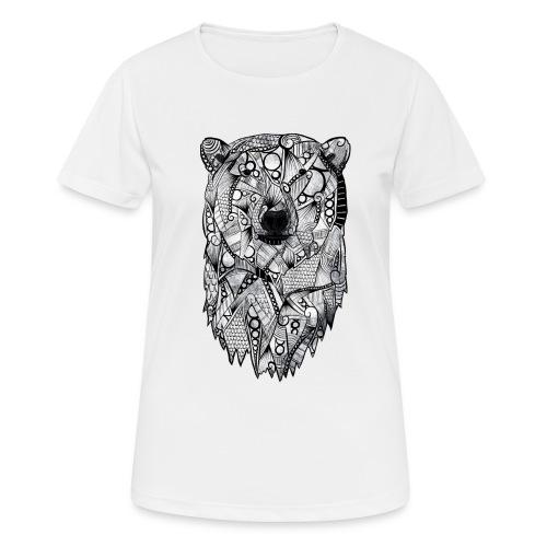 Isbjørn - Pustende T-skjorte for kvinner