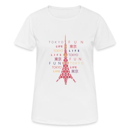 CR - Neon Tower - Camiseta mujer transpirable