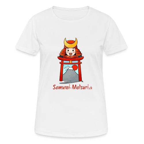 Samurai Matsuri Torii - Frauen T-Shirt atmungsaktiv