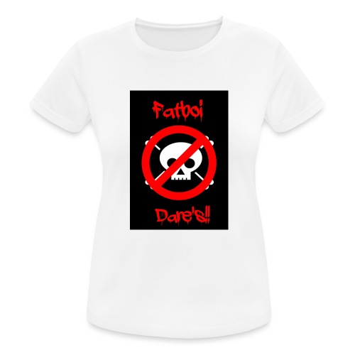 Fatboi Dares's logo - Women's Breathable T-Shirt