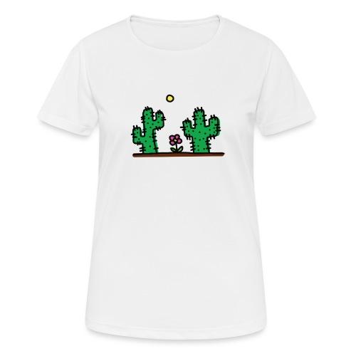 Cactus - Maglietta da donna traspirante