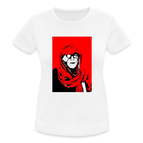L'homme rouge représente la terre rouge d'Afrique. - T-shirt respirant Femme