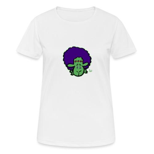 Frankensheep's Monster - Pustende T-skjorte for kvinner