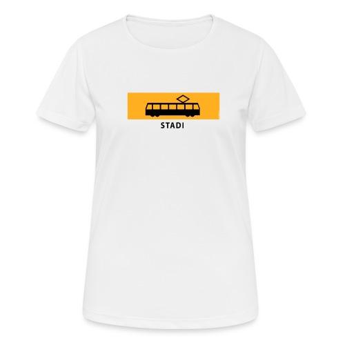 RATIKKA PYSÄKKI KYLTTI STADI T-paidat ja vaatteet - naisten tekninen t-paita