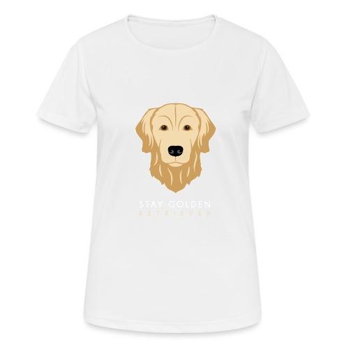 Golden Retriever - Maglietta da donna traspirante