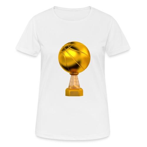 Basketball Golden Trophy - T-shirt respirant Femme
