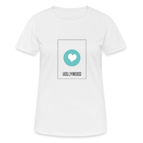 I Love Hollywood - Frauen T-Shirt atmungsaktiv