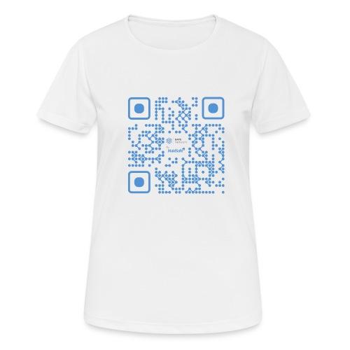 QR Maidsafe.net - Women's Breathable T-Shirt