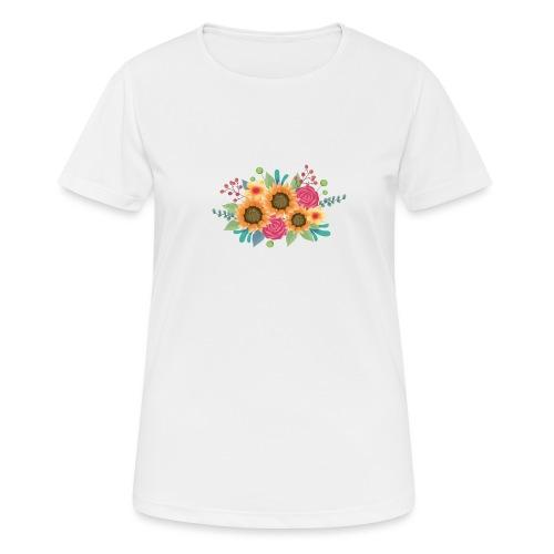 girasol - Camiseta mujer transpirable