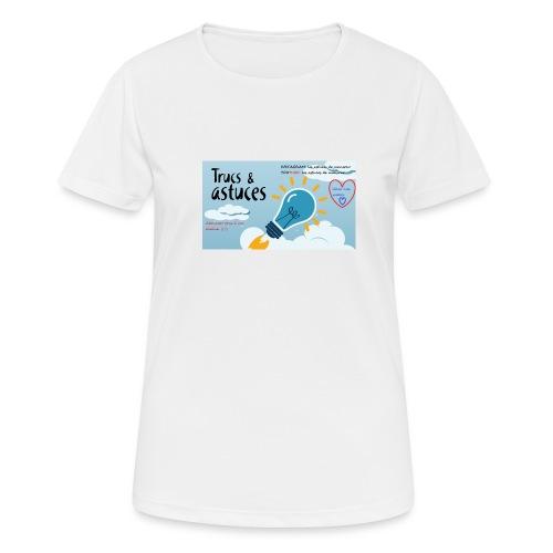 astuces mansour - T-shirt respirant Femme
