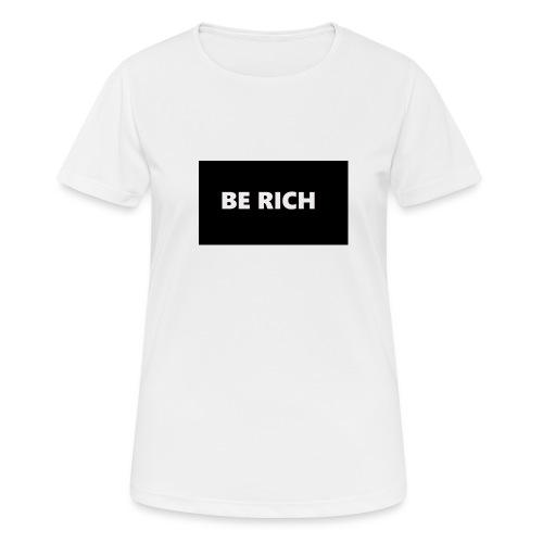 BE RICH REFLEX - vrouwen T-shirt ademend