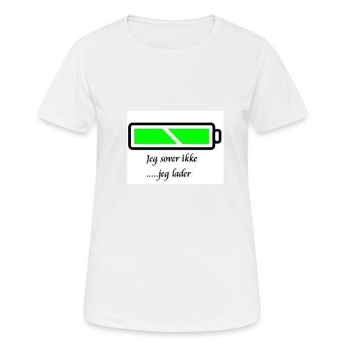 lader_2 - Pustende T-skjorte for kvinner