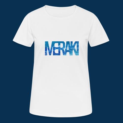 Meraki - Andningsaktiv T-shirt dam