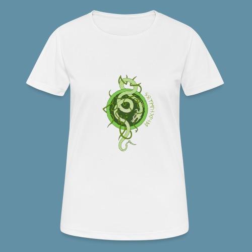 Jormungand logo png - Maglietta da donna traspirante
