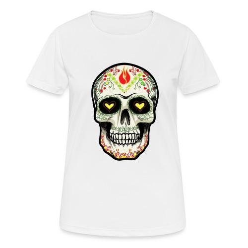 TETE DE MORT 1 - T-shirt respirant Femme