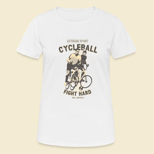 Radball   Fight Hard - Frauen T-Shirt atmungsaktiv